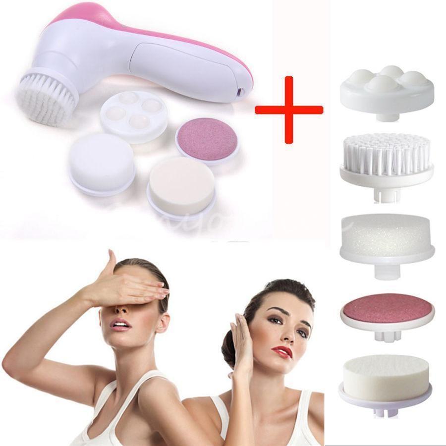 Professional Facial Cleansing Brush Spa Skin Care Massage Exfoliator
