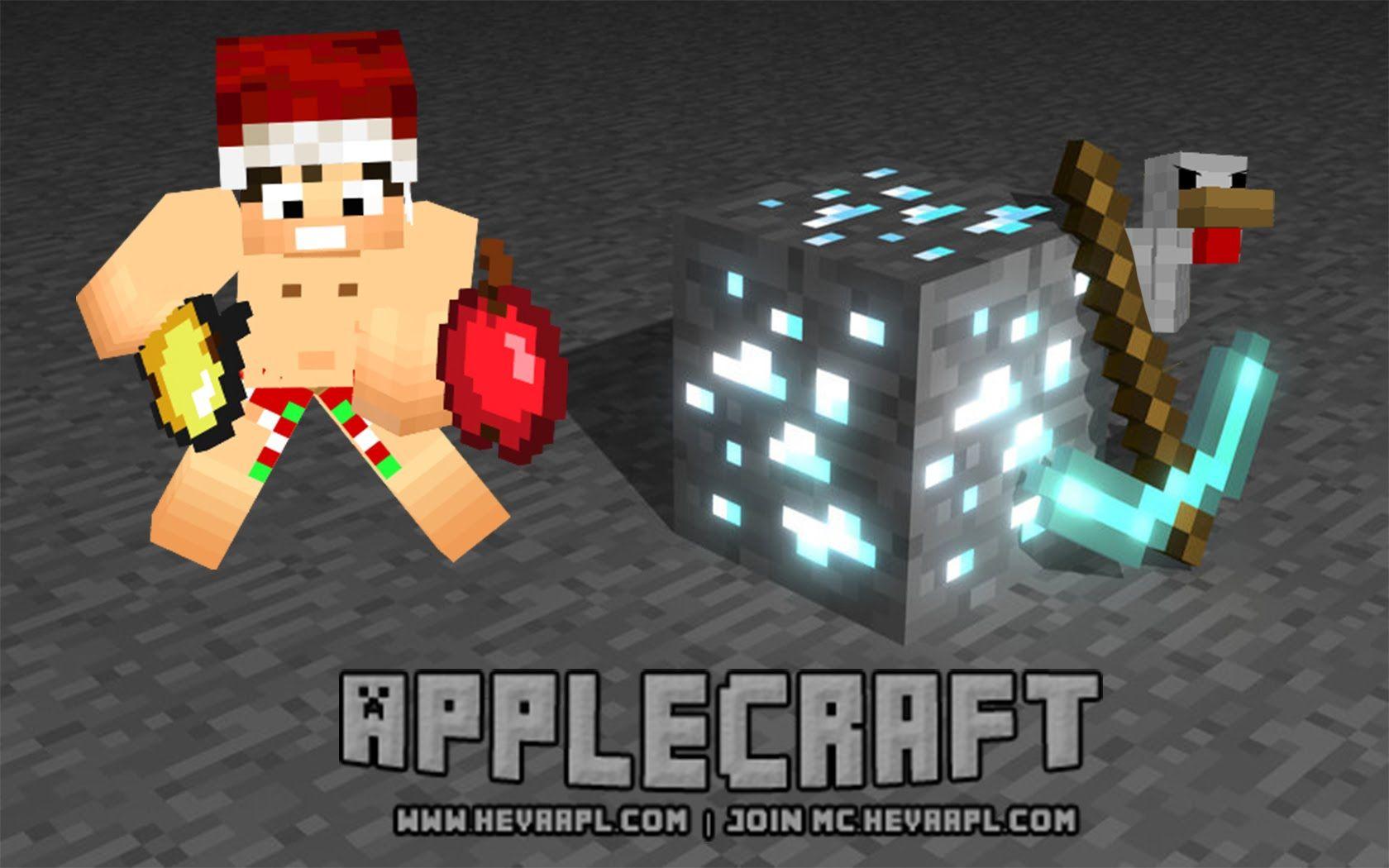 Minecraft Monday Applecraft Come and Get High Fives