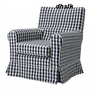 Ikea Ektorp Jennylund Armchair Slipcover Cover Stoarp