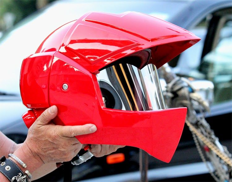 Luusama Motorcycle And Helmet Blog News: Masei 911 Full Red Xcross Motorcycle DOT Arai Helmet - Macross & Robotech-Looking Helmet