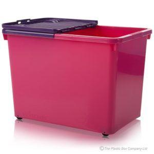 Pink Plastic Storage Boxes With Wheels  sc 1 st  Pinterest & Pink Plastic Storage Boxes With Wheels | http://usdomainhosting.us ...