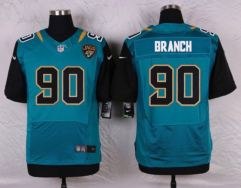 jacksonville jaguars 90 andre branch green elite jersey