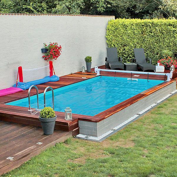Small And Best Backyard Pool Landscaping Ideas Great Affordable Backyard Ideas Small Backyard Pools Small Pool Design Swimming Pools Backyard