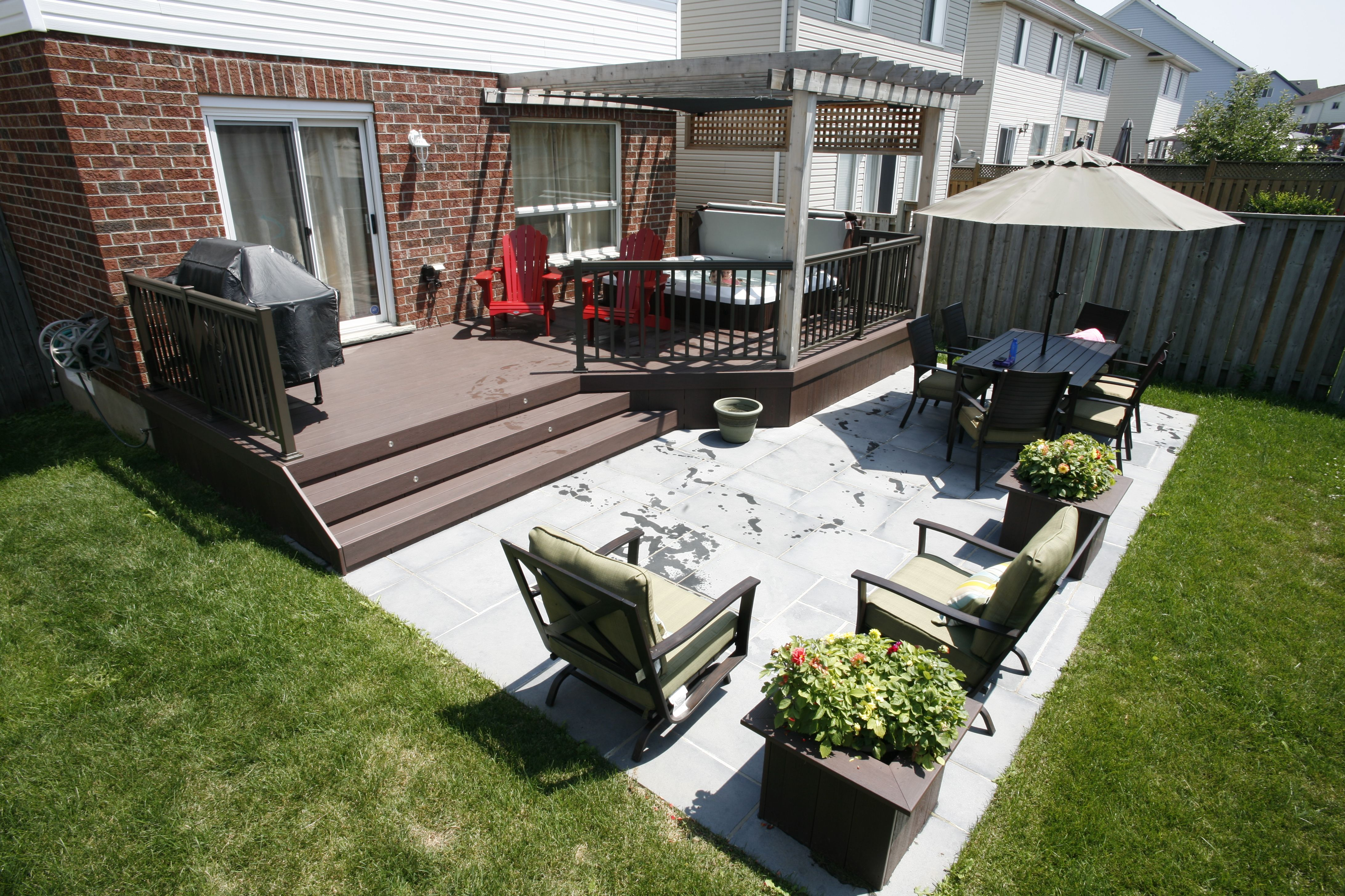 Image Result For Simple Deck House Patio Decking Lake Houses