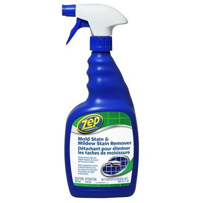 Zep Commercial 32 Fl Oz Mold Amp Mildew Stain Remover With