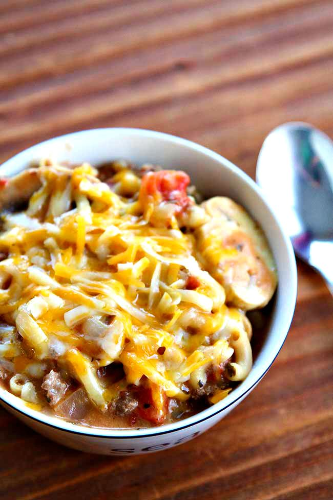 Photo of Cheesy Beef Skillet Dinner | The Kitchen Magpie