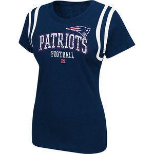 NFL - New England Patriots Women's Navy Critical Call T-Shirt