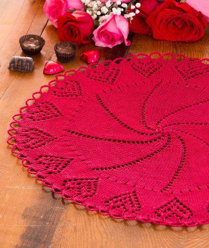 February Doily Of The Month Crochet Patterns Pinterest