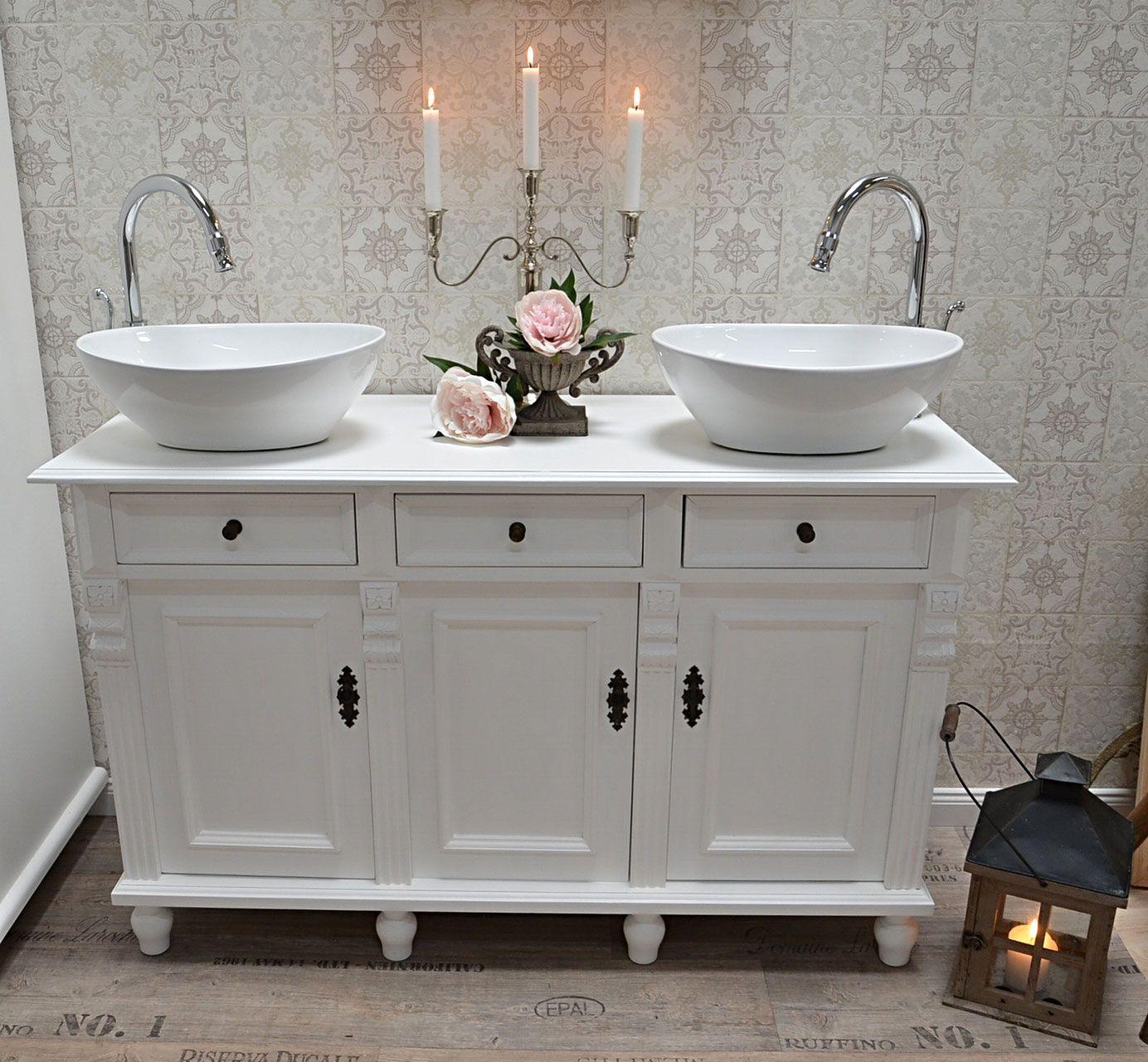 Doppelwaschtische Land Liebe Badmobel Landhaus Badezimmer Inspiration Doppelwaschtisch Neues Badezimmer