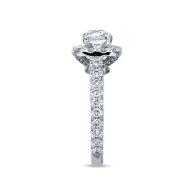 Neil Lane Bridal® Collection 1.99 CT. T.W. Princess-Cut Diamond Frame Engagement Ring in 14K White Gold  - Peoples Jewellers