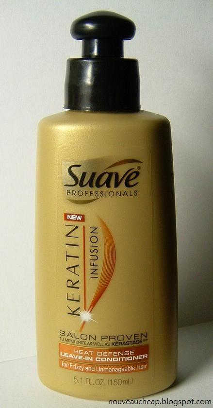 Suave Keratin Infusion Heat Defense Leave-In Conditioner