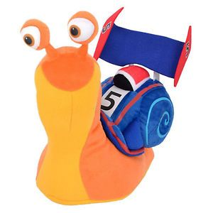 "Turbo 12.5"" Plush Soft Toy 32 cm Large The racing snail ..."