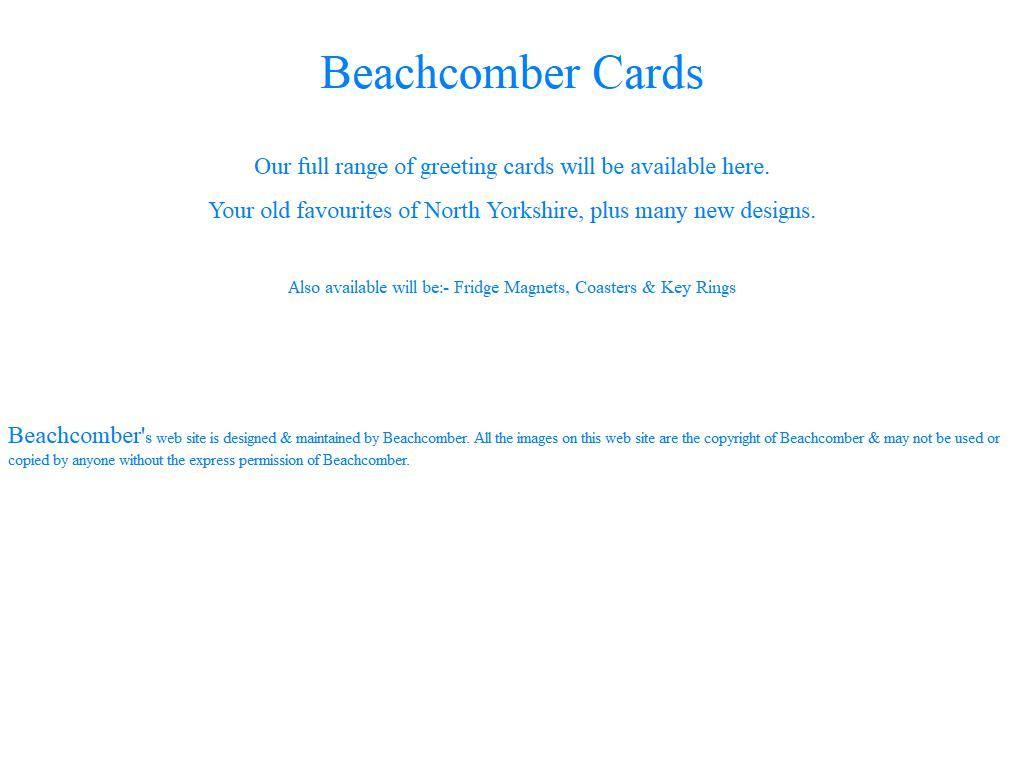Beachcomber Cards Greeting Card Publishers Wholesalers 21 Marton