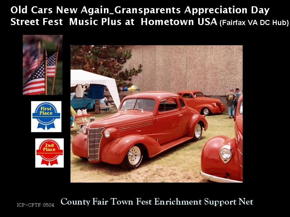Such is the Herrndon Virginia once a year Classic Car Show. Classic ...