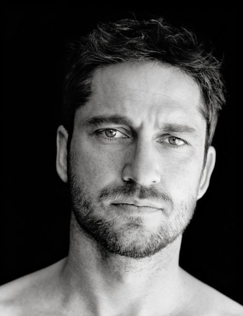 The scottish edition of a beard; GERARD BUTLER