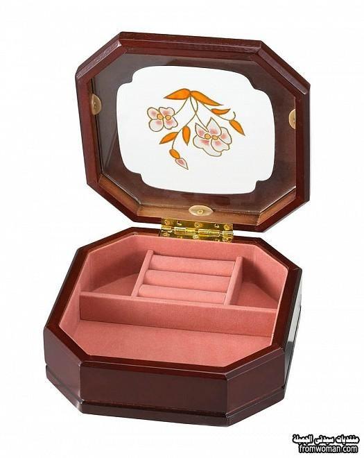 اجمل اشكال صناديق المجوهرات لحفظ مقتناياتك الخاصة