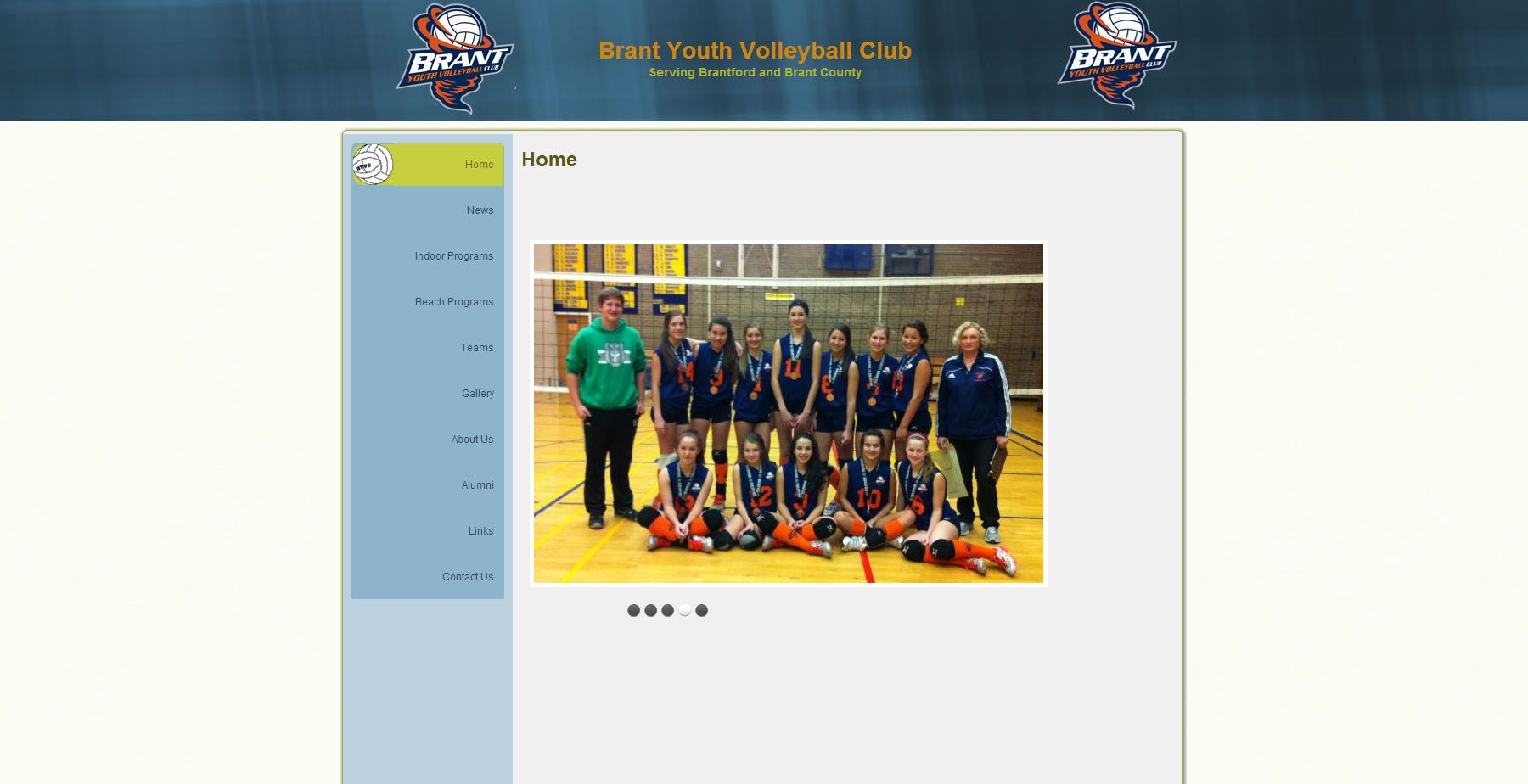 Brant Youth Volleyball Club With Images Youth Volleyball Volleyball Clubs Volleyball