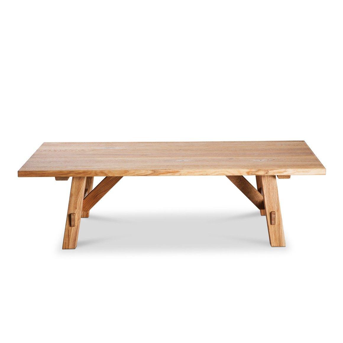 Table Basse Bois Massif Les Milles Chene Massif 16184400 0 Clubtisch Tisch Design