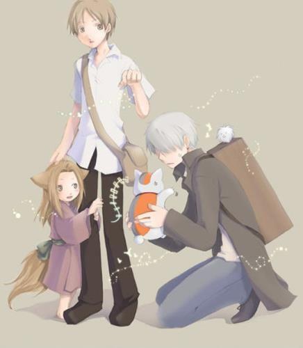 Mushi-shi and Natsume Yuujinchou