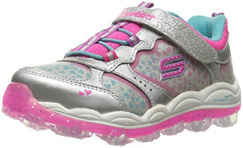 Skechers , Mädchen Sneaker Silver Multi: : Schuhe