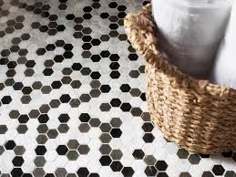 Image result for black and white damask wicker bathroom