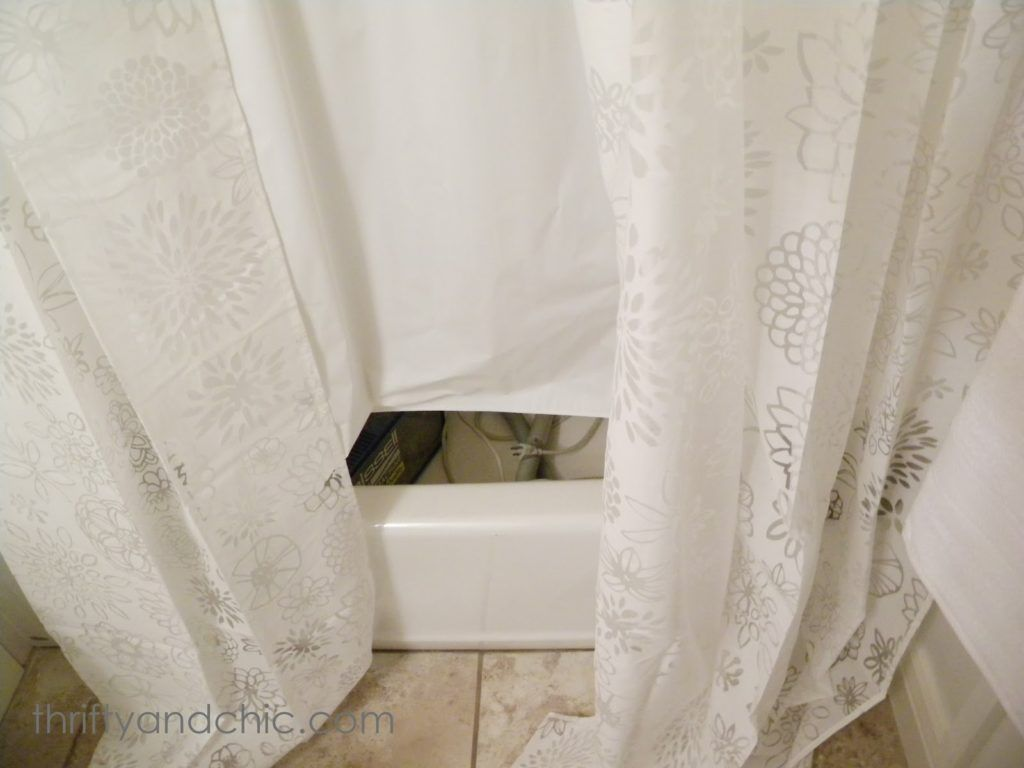 Thrifty And Chic Diy Projects Home Decor In Proportions 1600 X 1200 Short Shower Curtain Liner Lengths