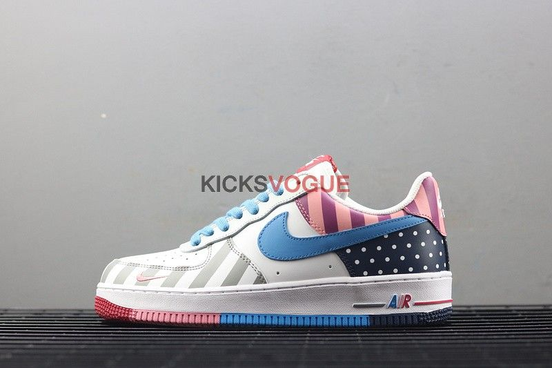 Custom Nike Air Force 1 Low Parra MutiColor | Nikes in 2019