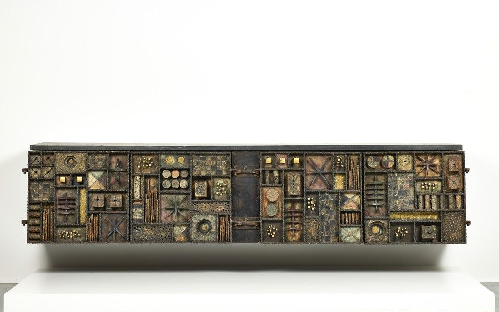 Cabinet (Forged-Front) | Paul Evans, Cabinet (Forged-Front) (1964)
