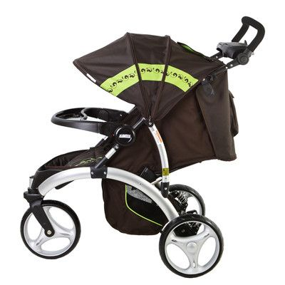 Dream On Me/Mia Moda Energi Full Size Stroller Color: Brown 495-BRN,    #Dream-On-Me/Mia-Moda-495-BRN