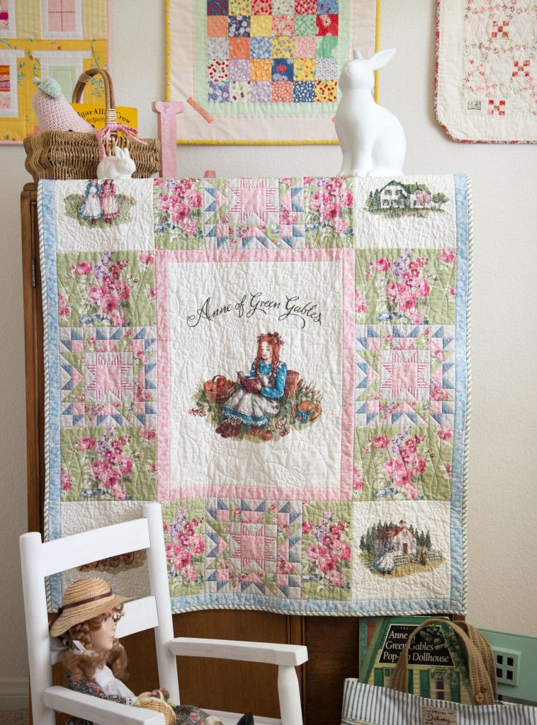 Anne Of Green Gables Quilt Panel Anne Of Green Gables