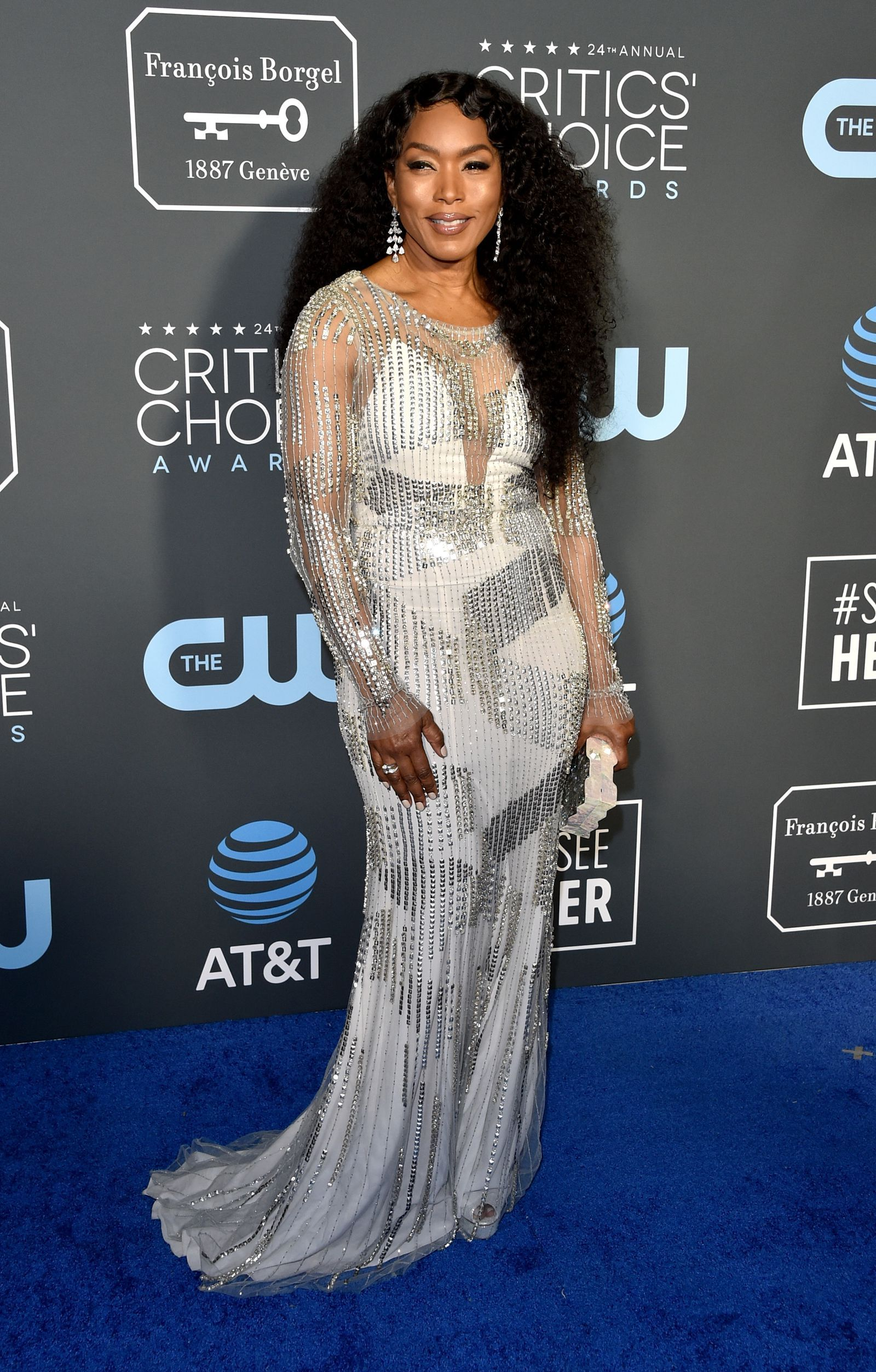 5e91e810a0a Chrissy Teigen Gives Good Leg at the 2019 Critics  Choice Awards
