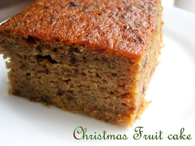 The Inner Gourmet A West Indian Christmas Fruit Cake