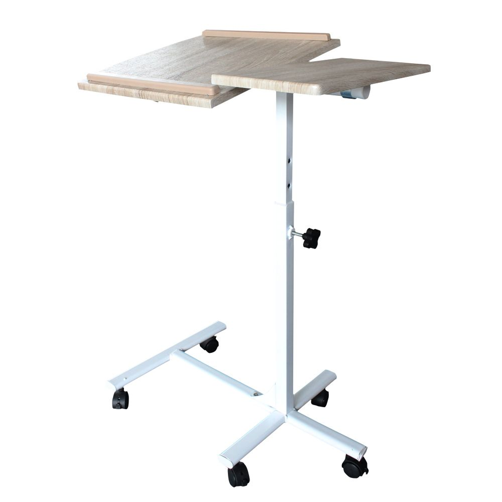 2017 Ikea Foldable Laptop Desk With Wheels Office Removable Notebook Table And Reading Stand