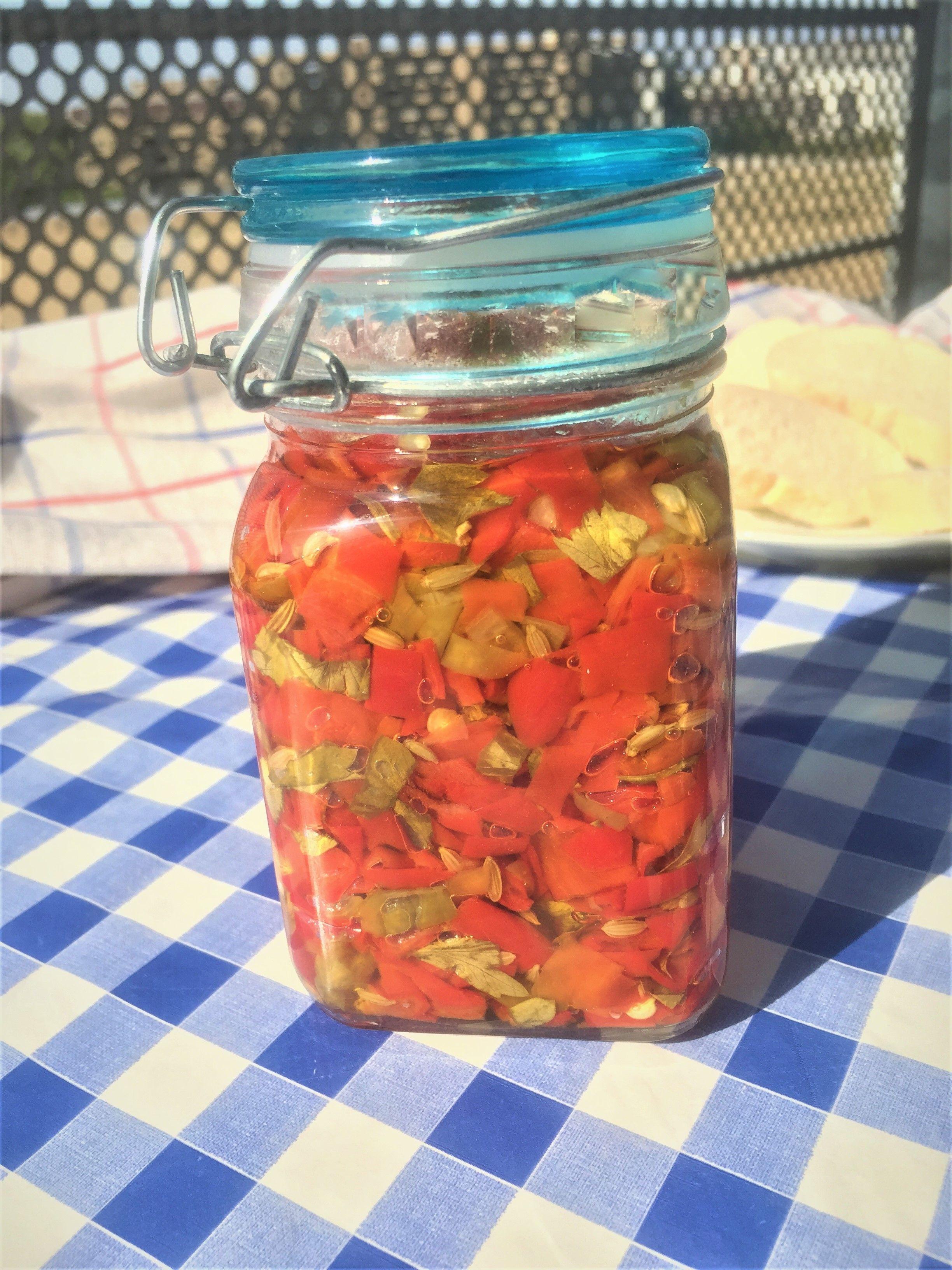 La Composta Di Peperoni Allungati Ricetta Pugliese Acasadigery Ricetta Ricette Peperoni Cibo Etnico