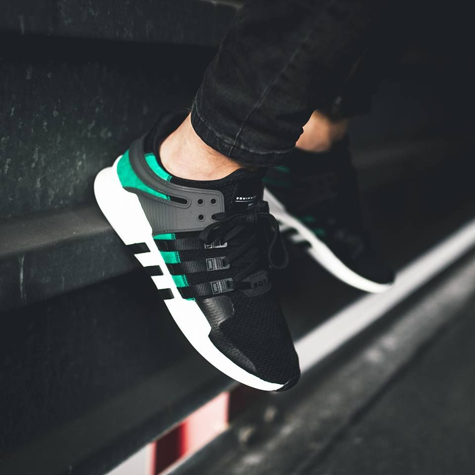 Adidas Equipment Support ADV - Core Black Sub Green (by juliansch23 ... bce6f7295