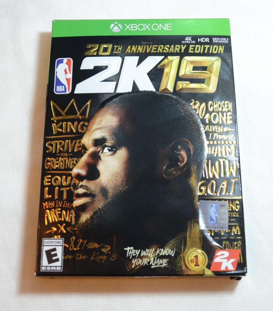 NBA 2K19 20th Anniversary Edition Microsoft Xbox One