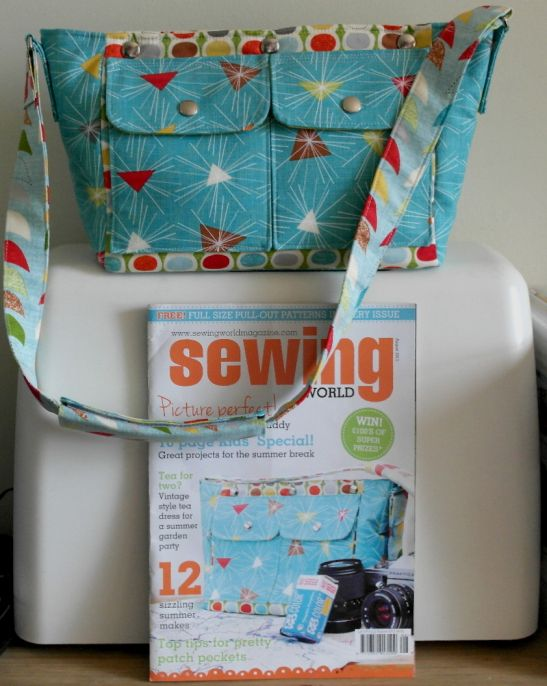 Camera Bag Project Featured in Sewing World Magazine | Magazines and ...