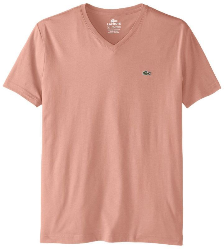 4c990d0dd7 NEW LACOSTE MEN S SPORT SHORT SLEEVE PIMA COTTON JERSEY VNECK T-SHIRT  TRIANON PI  jersey  vneck  shirt  trianon  cotton  pima  mens  sport  short   sleeve   ...