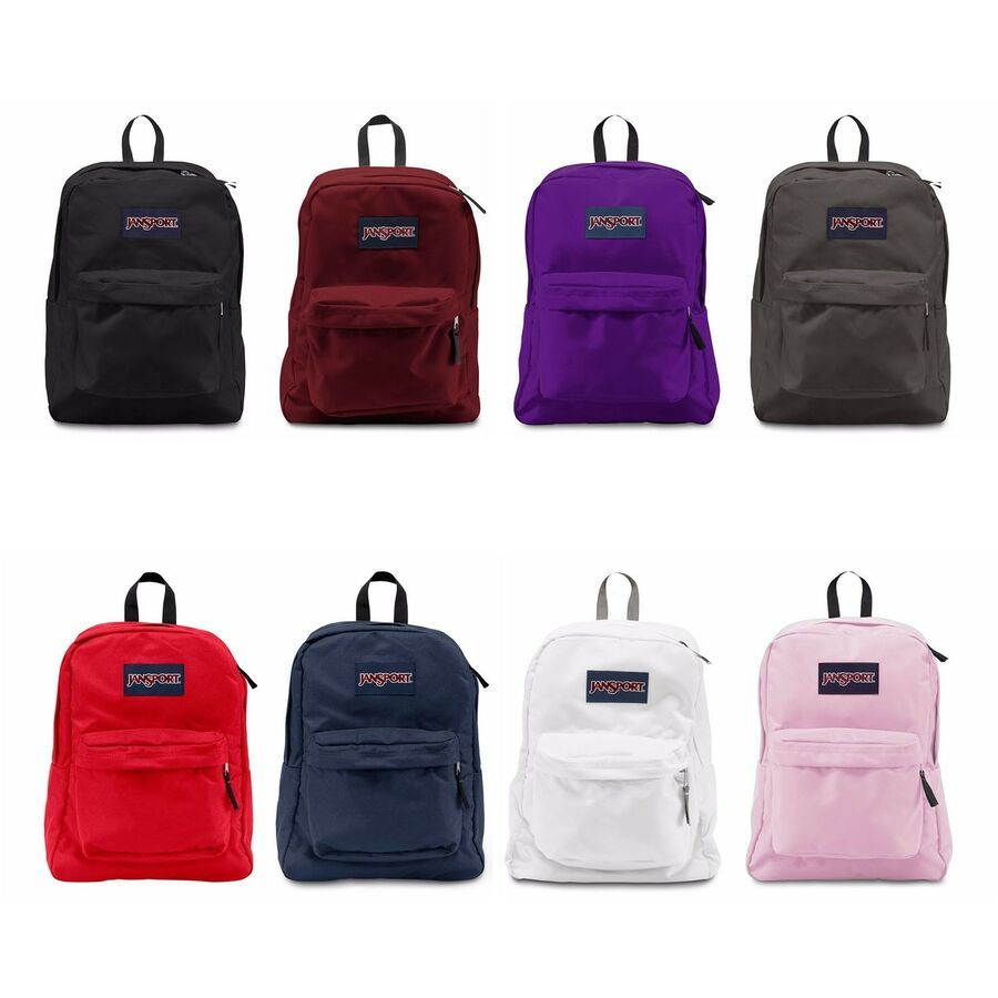 New Authentic Jansport Superbreak Backpack Student School Bag All Colors NWT