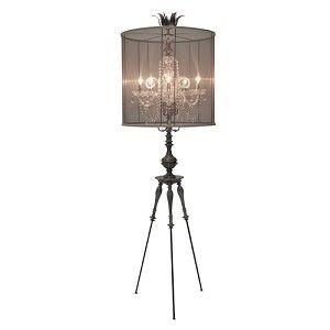 Luna Bella Floor Lamps Angele French Metal Gl Chandelier Style Lamp