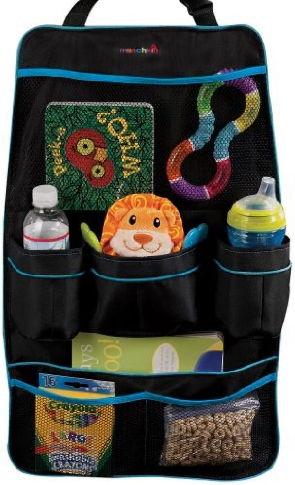 Car Seat Organiser Baby Strolley Storage Back Hanging Bag Travel Munchkin Uk