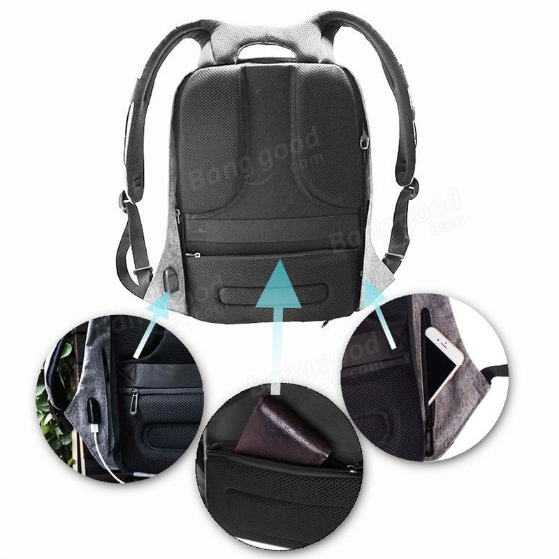 25L Outdoor Travel Smart Anti-Theft Backpack Safety Anti-Lost Rucksack  Waterproof Notebook Bag Sale - Banggood.com 4d72e944cb8