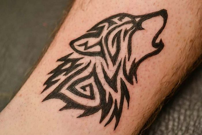 Hand Wolf Tattoo Tribal Tribal Wolf Tattoo Tribal Tattoos Wolf Tattoos Men