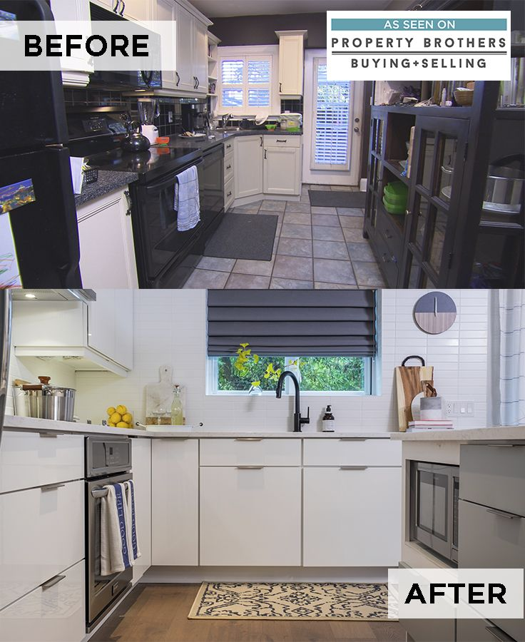 Selling Used Kitchen Cabinets: Last Night's Kitchen Transformation On @buyingsellingpb
