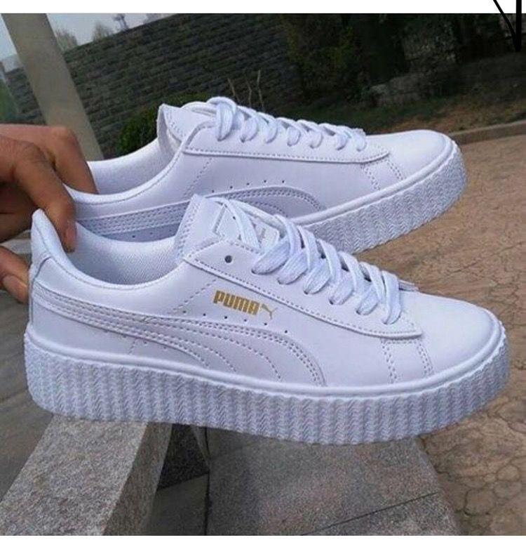 puma bianche scarpe