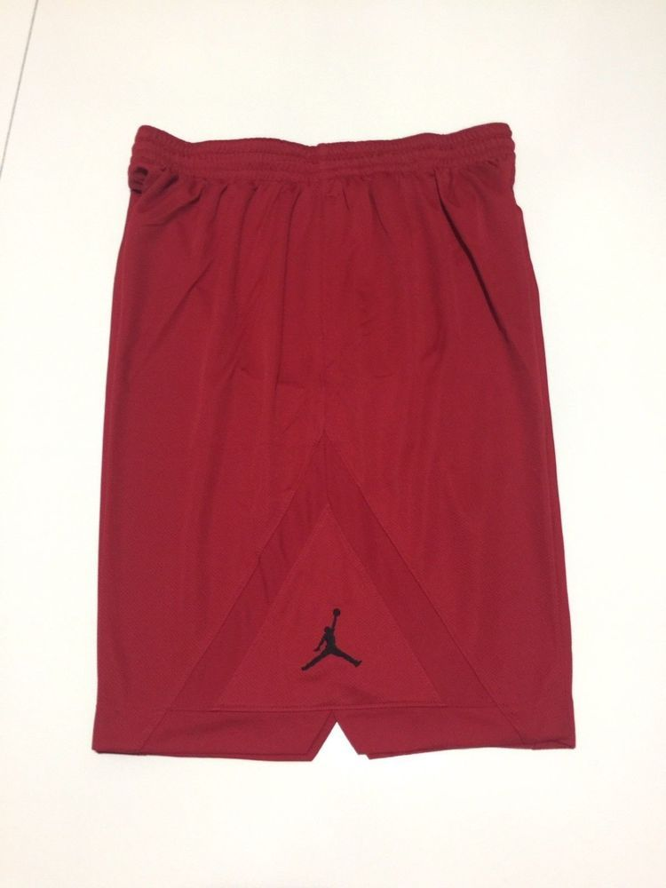 ae9bc19cf8247e Nike Men s Air Jordan Jumpman Basketball Shorts Red Black 3XL 724828 688  NEW  Nike  Athletic
