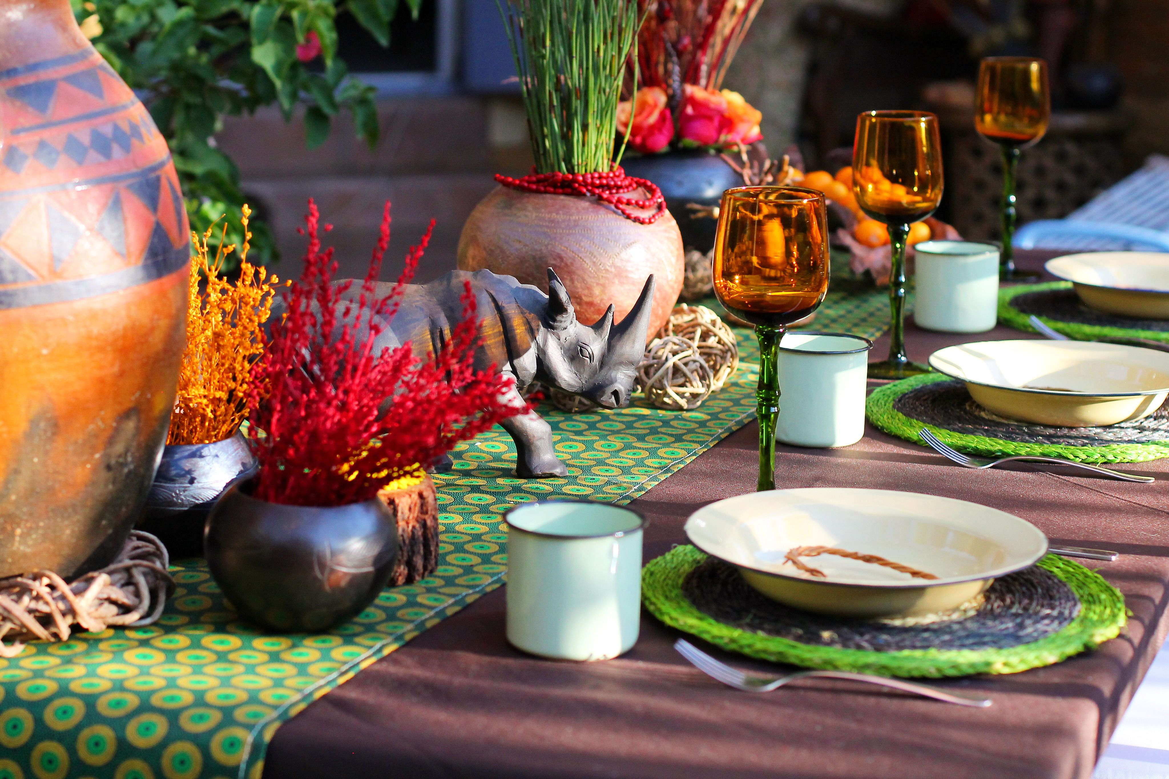 African Wedding Decorations: Traditional African Wedding Decor. Zulu Wedding