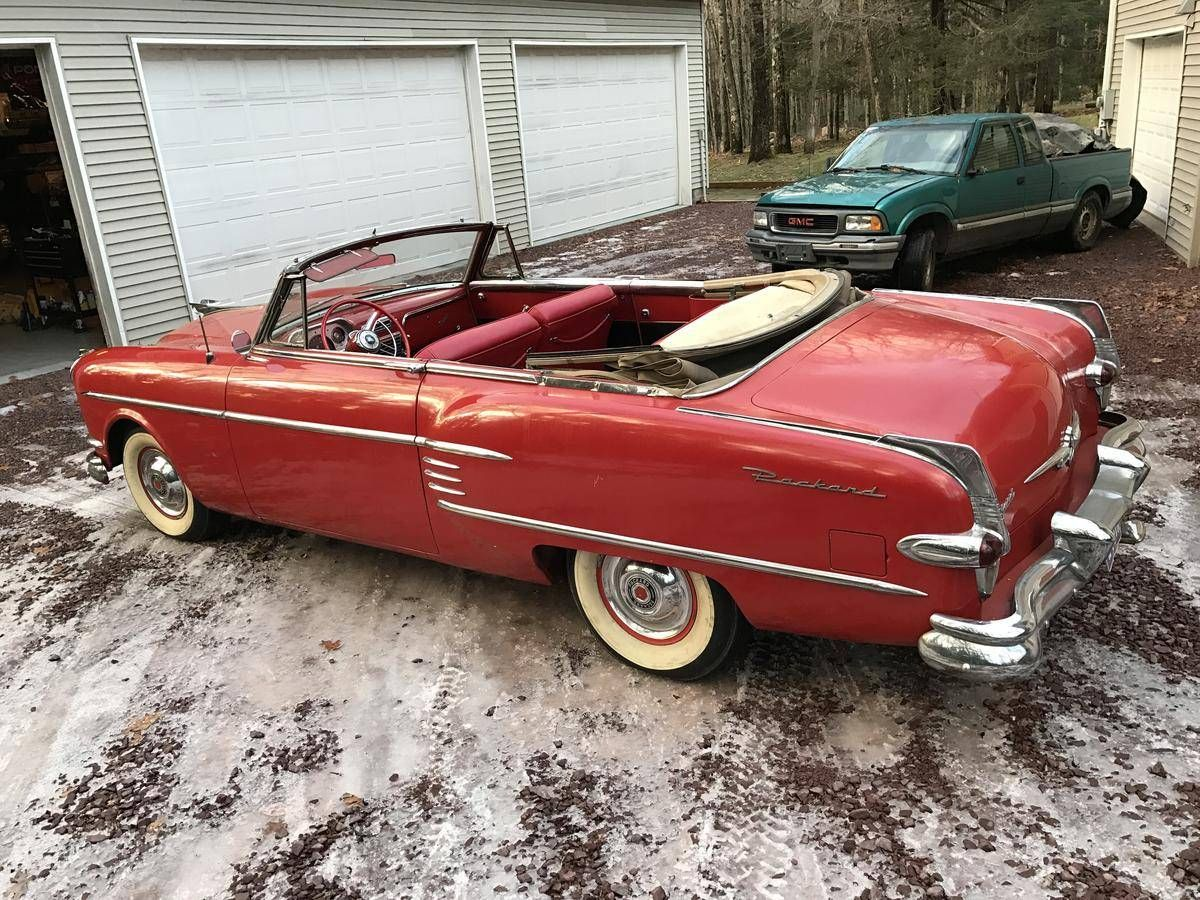 1954 Packard Cavalier Convertible | Old Rides 5 | Pinterest | Cars ...