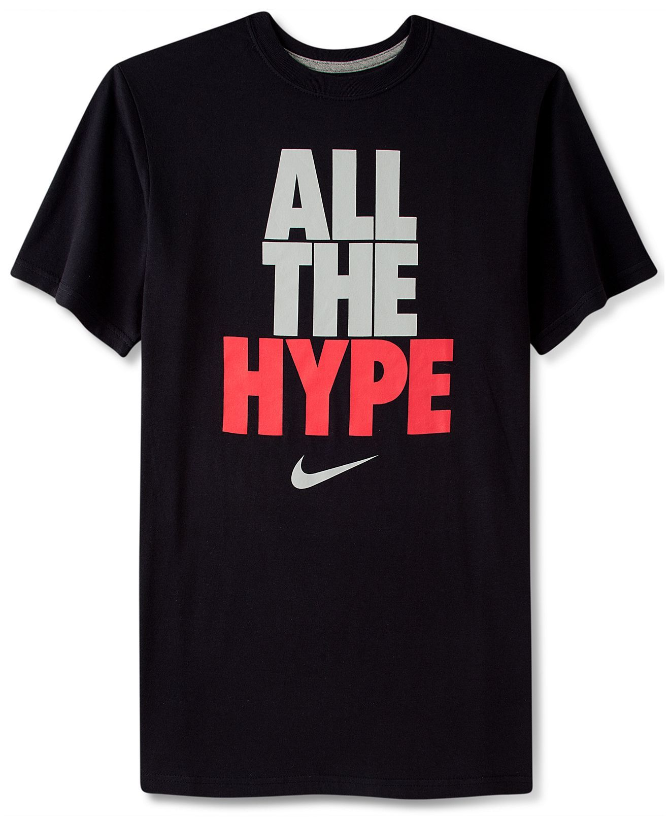 2a0d20cd Nike Shirt, All The Hype T-Shirt - T-Shirts - Men - Macy's | My ...