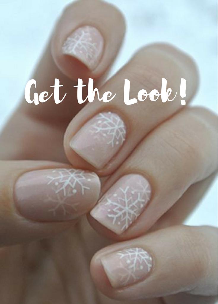 Seasonal Nails Snowflake Designs Ad Makeup Tutorial Ideas Tips Fall Products Natural Looks Brushes Hacks Hair Sty Trendy Nails Nails Seasonal Nails